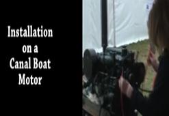 Montaža jermena na motor čolna