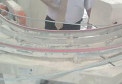 Transportiranje keramičnih ploščic s Power twist jermeni