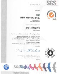 Certifikat ISO 14001_M&M_Slo