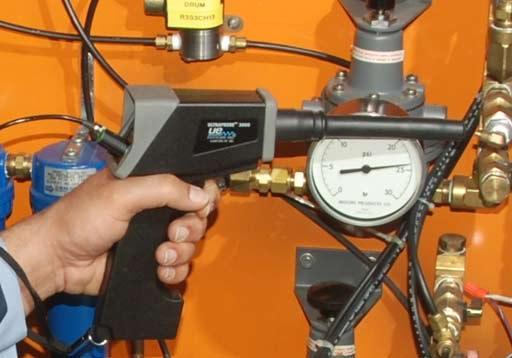 Ultrazvočni Merilni In Trumenti Za Vzdrževanje Strojev In